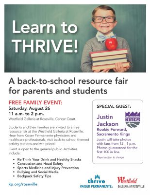 Learn to Thrive: Back to School Health Tips