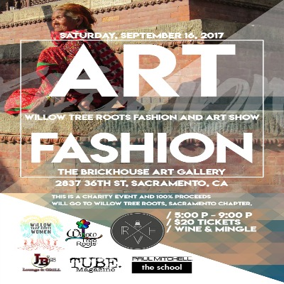 Willow Tree Roots Fashion and Art Show