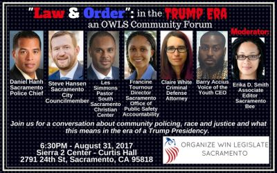 Law and Order in the Trump Era: OWL Community Forum