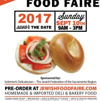 40th Annual Sacramento Jewish Food Faire