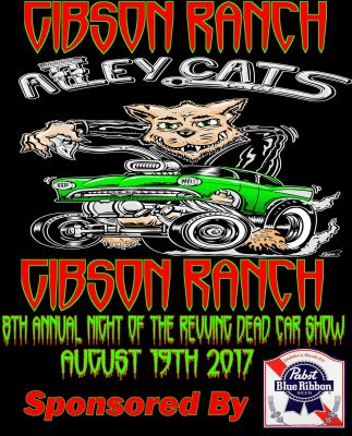 AlleyCats 8th Annual Night of the Revving Dead Car Show