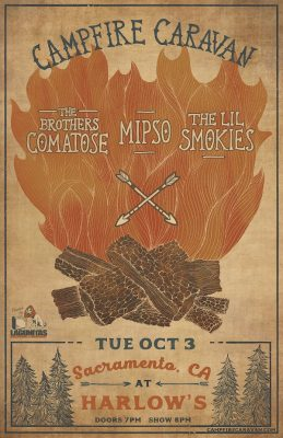 Campfire Caravan ft. The Brothers Comatose, The Lil Smokies and Mipso