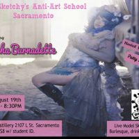 Dr. Sketchy's Featuring Chacha Burnadette