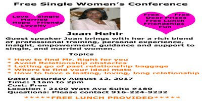 Single Women's Conference