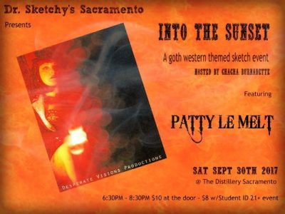 Into the Sunset: Dr. Sketchy's Sacramento