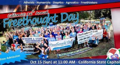 California Freethought Day