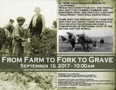 From Farm to Fork to Grave