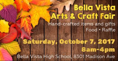 Bella Vista Arts and Craft Fair