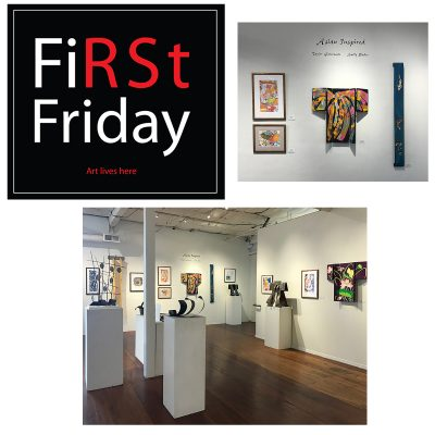 First Friday Reception: Asian Inspired