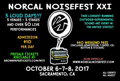 Norcal Noisefest 2017: Day Two and Three (Cafe Colonial and The Colony)