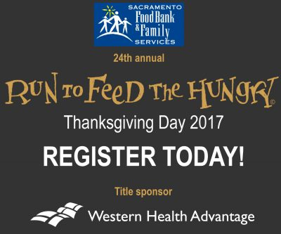 Join the CapRadio Run To Feed The Hungry Team