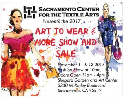 Art To Wear and More Show and Sale