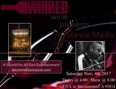 Stevie Mello at Whired Wine
