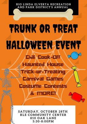 Rio Linda Elverta Trunk-or-Treat Halloween Event