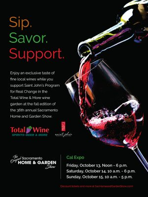 Total Wine Fundraiser for Saint John's Program for Real Change