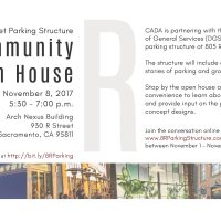 Community Open House: R Street Parking Structure