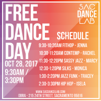 Free Dance Day: Sac Dance Lab