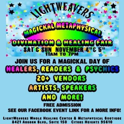 LightWeavers Metaphysical Healing Fair