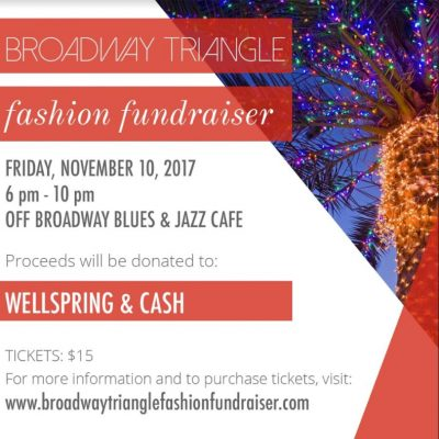 Broadway Triangle Fashion Fundraiser
