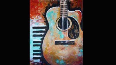 Paint and Sip: Guitar and Keys