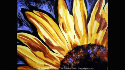 Paint and Sip: Sunflower