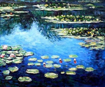 Monet's Waterlilies: The Painted Cork Midtown