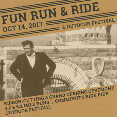 Johnny Cash Trail Fun Run and Ride