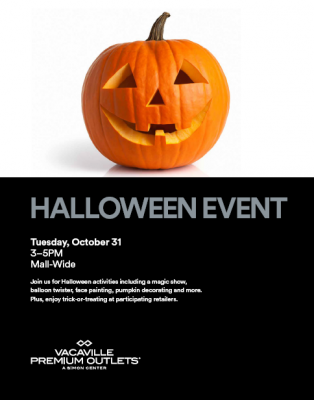 Halloween at Vacaville Premium Outlets