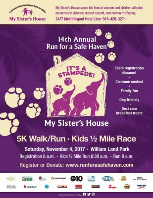 Run for a Safe Haven My Sister's House 5K