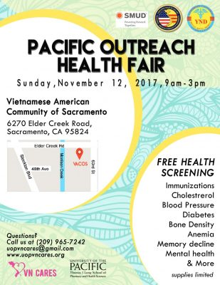 Pacific Outreach Health Fair