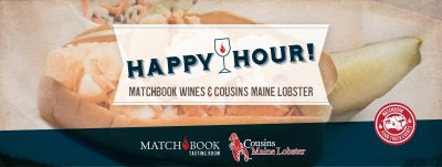 Cousins Maine Lobster at Matchbook Wine Company