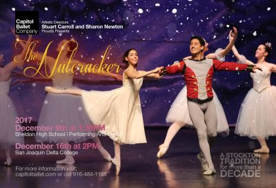 The Nutcracker presented by Capitol Ballet Company and the Stockton Ballet School