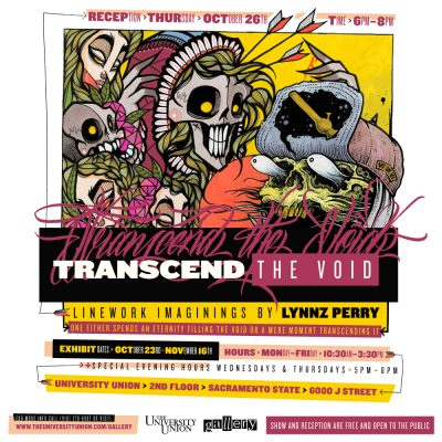 Transcend The Void: Exhibit and Opening Reception