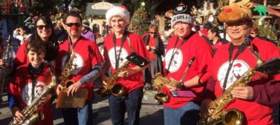 Sacramento Saxophone Christmas (Fountains at Roseville and Sunrise Mall)