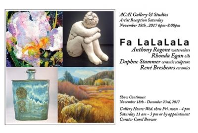Fa LaLaLaLa Holiday Art Show