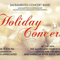 Sacramento Concert Band Holiday Concert
