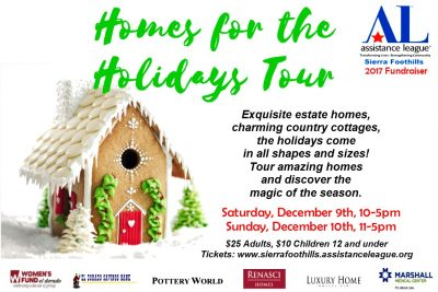 Homes for the Holidays Tour and Holiday Boutique