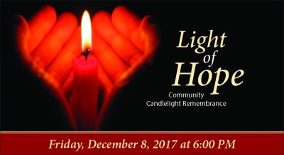 Light of Hope Community Candlelight Remembrance