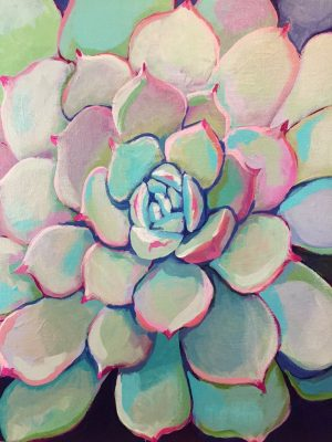 Succulents and Cacti Acrylic Workshop