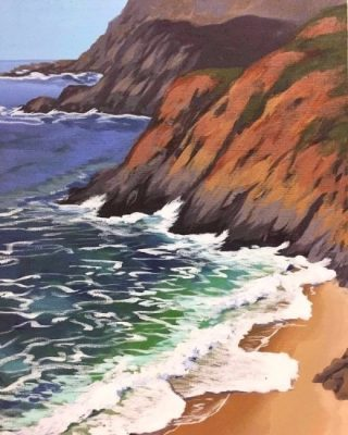 Seascape Success: Understanding the Ocean with Acrylic Paints