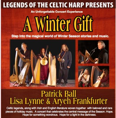 A Winter Gift: Music and Stories for the Season with Patrick Ball, Lisa Lynne and Aryeh Frankfurter
