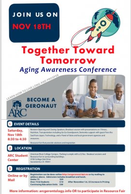 Together Toward Tomorrow: Aging Awareness Conference