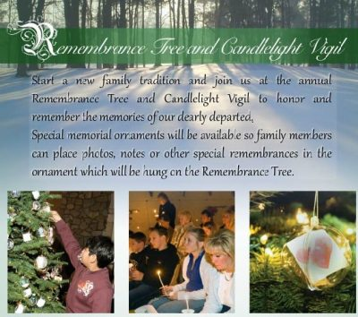 Calvary Remembrance Tree and Candlelight Vigil