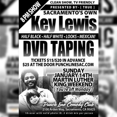 Key Lewis: Half Black, Half White, Looks, Mexican DVD Taping