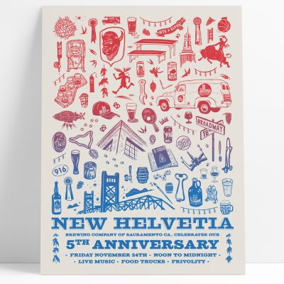 New Helvetia Brewing Co. 5th Anniversary Block Party