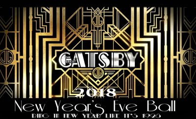 A Great Gatsby New Year's Eve 2018
