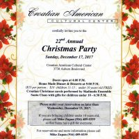 Croatian Christmas Party
