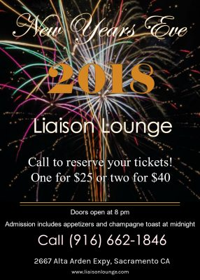 Liaison Lounge New Year's Eve Party