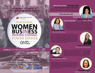Women in Business: Power Dinner and Fireside Chat