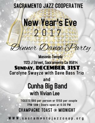 New Year's Eve Dinner Dance Party
